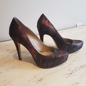 ❤BCBGeneration❤ suede platform heels